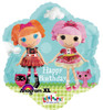 "18"" Lalaloopsy Birthday Junior Shape Mylar Foil Balloon"