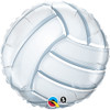 "18"" Volleyball Mylar Foil Balloon"
