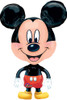 "30""  Buddy Mickey Mouse Shape Mylar Foil Balloon"