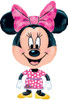 "30""  Buddy Minnie Mouse Shape Mylar Foil Balloon"