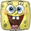 "17"" SpongeBob Square Face Mylar Foil Balloon"
