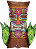 "30"" Tiki Time Shape Mylar Foil Balloon"