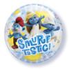 "22"" Bubble Smurf-tastic Bubble Balloon"