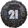 "18"" 21 'Time to Party'  Mylar Foil Balloon"