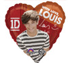 "17"" One Direction Louis Mylar Foil Balloon"