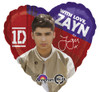 "17"" One Direction Zayn Mylar Foil Balloon"