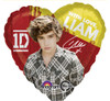 "17"" One Direction Liam Mylar Foil Balloon"