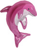 "14"" Pink Dolphin Air-Fill  Mylar Foil Balloon"
