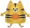 "14"" Fat Cat Air-Fill  Mylar Foil Balloon"
