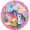 "17"" My Little Pony Mylar Foil Balloon"