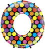 """40"""" Megaloon Mighty Bright Number 0  Mylar Foil Balloon"""