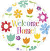 "18"" Welcome Home Flowers Foil Balloons"