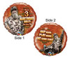 "18"" Duck Dynasty 3 Birthday Rules Foil Balloon"
