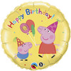 "18"" Peppa's Birthday Foil Balloon"