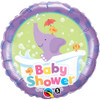 "18"" Baby Shower Elephant Foil Balloon"