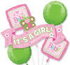 Welcome Little Girl Balloon Bouquet