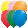 "9"" Standard Assortment Latex Balloons - Bag of 100"