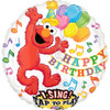 "28"" Singing Elmo Birthday Mylar Foil Balloon"