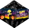 "17"" Anglez Haunted Halloween Mylar Foil Balloon"