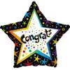 "17"" Congrats Confetti Foil Balloon"