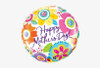 "18"" Inflated Happy Mother's Day Mylar Balloon"