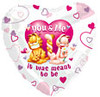 "18"" Garfield ""You and Me - Meant to Be"" Mylar Foil Balloon"