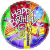 "18"" Happy Birthday Party Favors Mylar Foil Balloon"