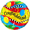"18"" Congratulations Party! Mylar Foil Balloon"