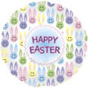 "18"" Easter Multi Bunnies Mylar Foil Balloon"