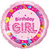 "18"" Birthday Girl - Make It Count Series Mylar Foil Balloon"
