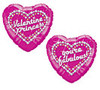 "18"" Fabulous! Valentine Princess Mylar Foil Balloon"