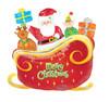 "30"" Santa's Sleigh Mylar Foil Balloon"