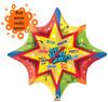 """34"""" Fabulous Graduate Spinner Mylar Foil Balloon"""