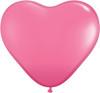 "Heart  6"" Fashion Rose Latex Balloons"