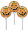 "9"" Smiley Pumpkin Ez Fill - Set of 3 Mylar Foil Balloons"