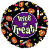 "18"" Trick or Treat Halloween Candy Mylar Foil Balloon"