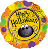 "18"" Happy Halloween Spider Mylar Foil Balloon"