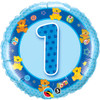 1st  Birthday Boy - Make It Count Series Mylar Foil Balloon