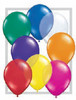"Round 11"" Jewel Assortment Latex Balloons - 100 Ct (43752)"