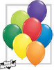 "Round 11"" Carnival Assortment Latex Balloons- 100 Ct (20915)"