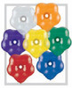 "Geo Blossom  6"" Jewel Assortment - 100 Ct"