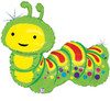 "32"" Caterpillar Mylar Foil Balloon"