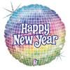"""18"""" New Year Ball Mylar Foil Balloon"""