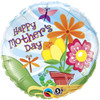 "18"" Potted Flowers Mothers Day Mylar Foil Balloon"