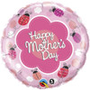 "18"" Mothers Day Ladybugs Mylar Foil Balloon"