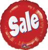 """18"""" Sale Round Mylar Foil Balloon"""