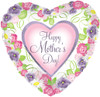 "31"" Mother's Day Garden Walk Shape Mylar Foil Balloon"