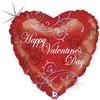 "36"" Lavish Valentine Mylar Foil Balloon"