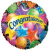 "36"" Congratulations Festive Mylar Foil Balloon"