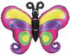 """38"""" Linky Butterfly Shape Mylar Foil Balloon"""